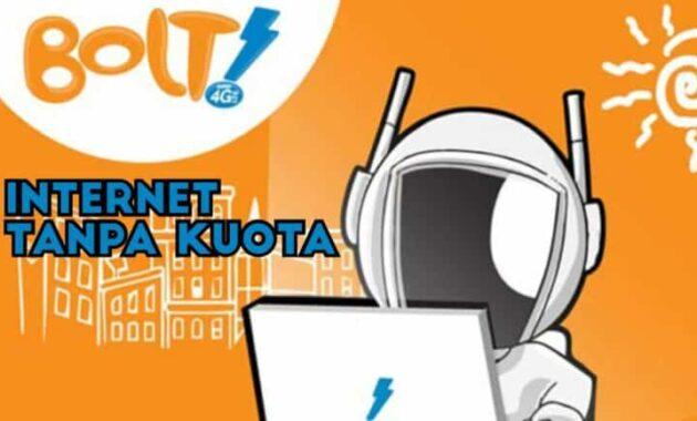 Cara Internet Gratis Bolt Tanpa Kuota