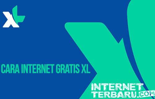 Cara Internet Gratis XL