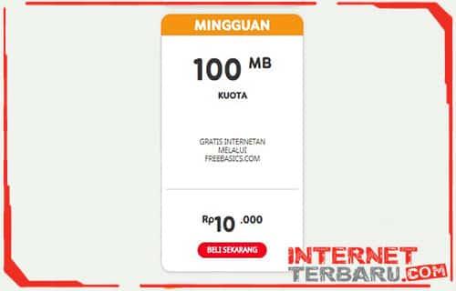 Paket Freedom Plus Indosat Ooredoo Mingguan