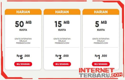 Paket Freedom Plus Indosat Ooredoo harian