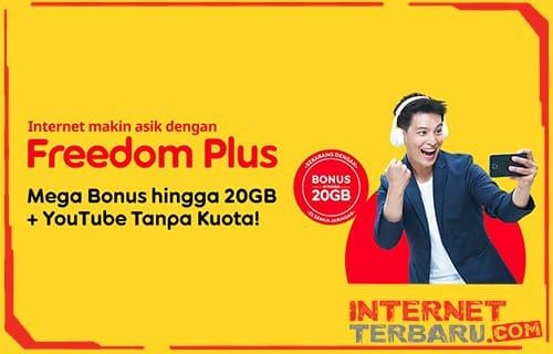 Paket Freedom Plus Indosat Ooredoo