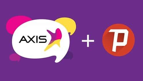 Trik Internet Gratis Axis dengan Psiphon Pro