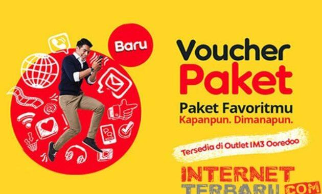 Voucher Paket Indosat Ooredoo