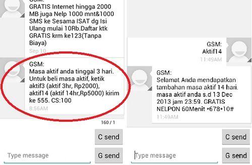 Cara Memperpanjang Kartu Indosat (Mentari, IM3)