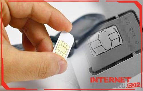 Cek Pemasangan SIM Card