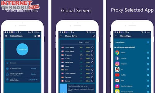 Free VPN Unlimited Proxy - Proxy Master