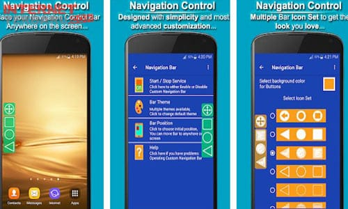 Navigation Control Bar : Back Button