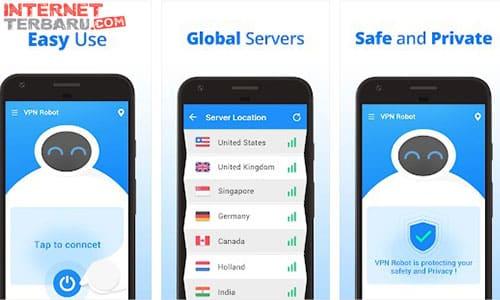 VPN Robot -Free Unlimited VPN Proxy &WiFi Security
