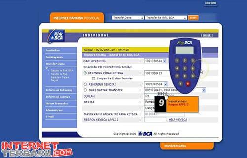 Bayar Tagihan Indihome ViaInternet Banking BCA