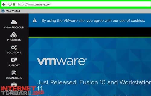 Kunjungi Website resmi vmware