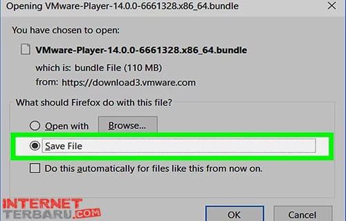 Lalu Download .bundle dan simpan di komputer