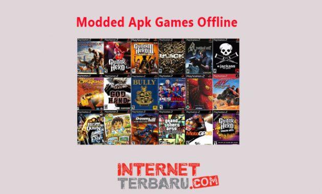 modded apk games offline