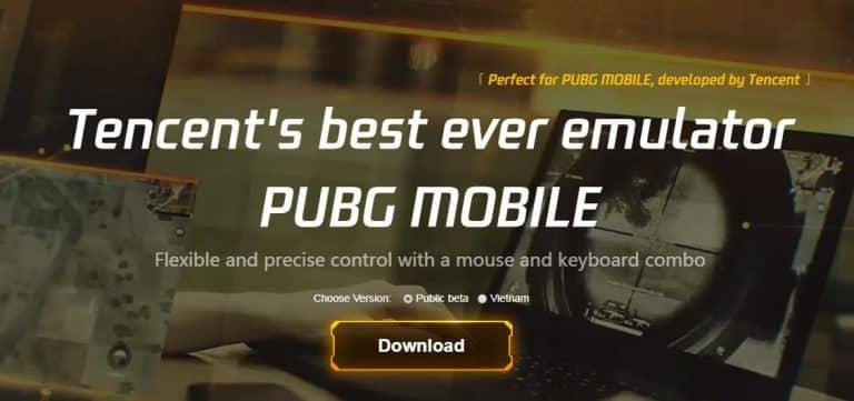 Emulator PUBG Mobile PC